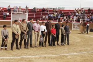 Clase Práctica de la Escuela de Tauromaquia de la Región de Murcia en Mula