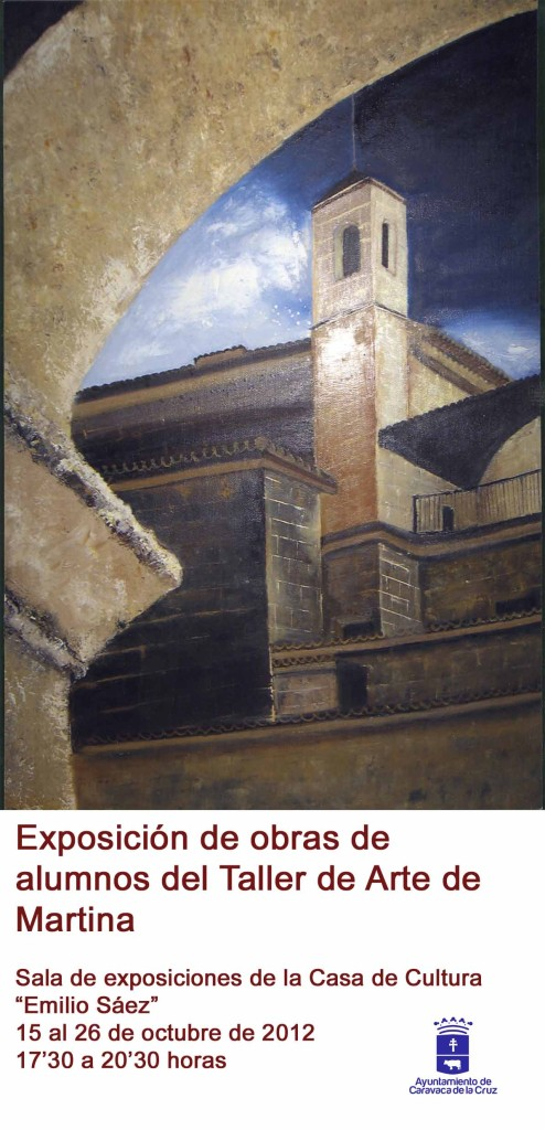 "Cartel de la Exposicion del ""Taller de Arte Marina"""