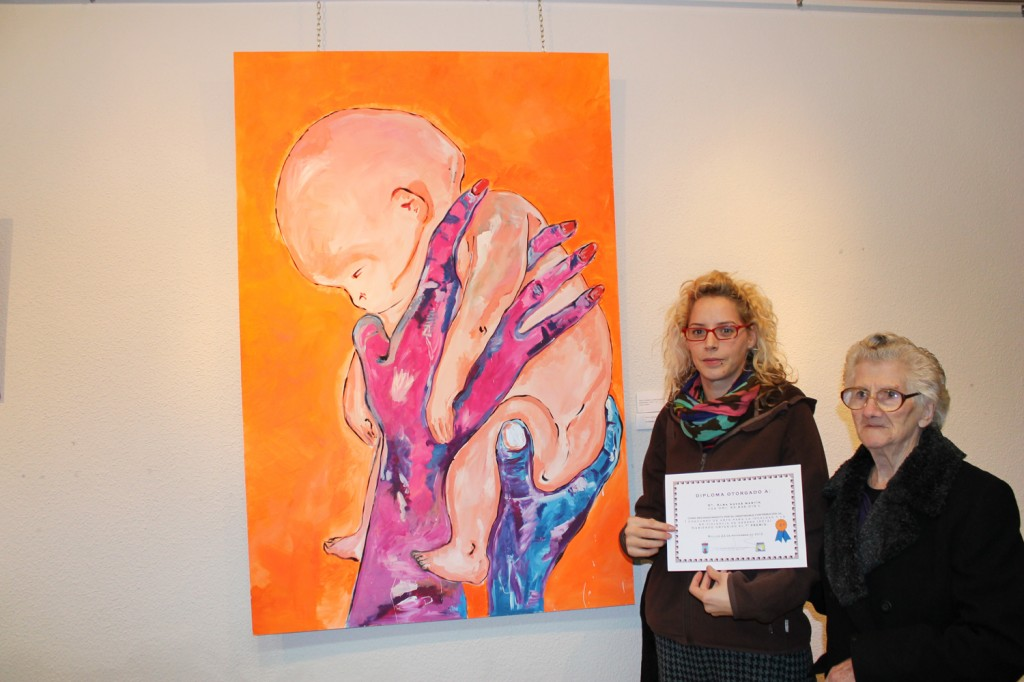 Segundo premio recayó en la artista local Alba Navas Martín