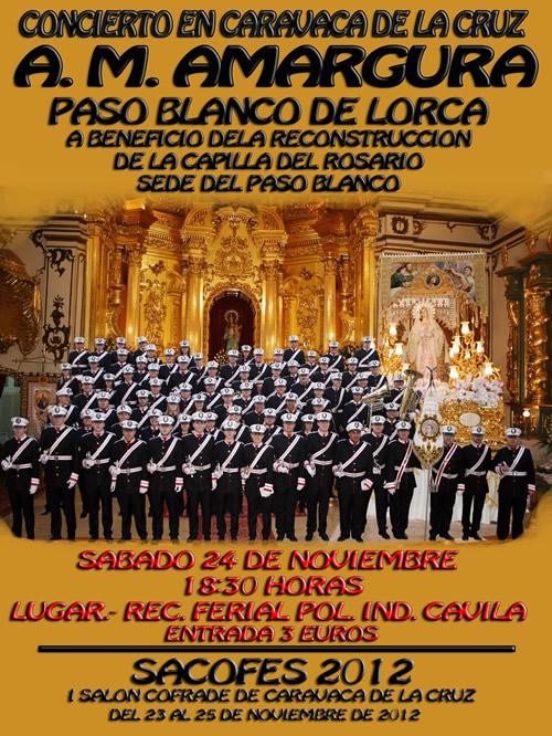 CONCIERTO A.M Amargura del Paso Blanco de Lorca