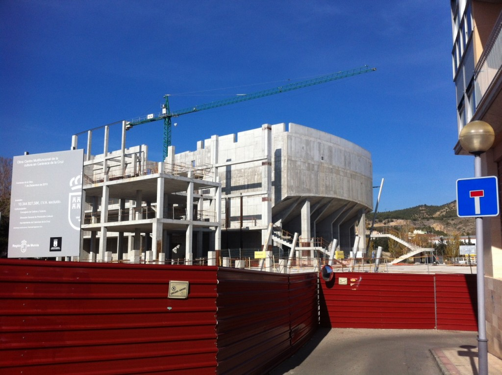 Estado Actual Obras Auditorio Caravaca