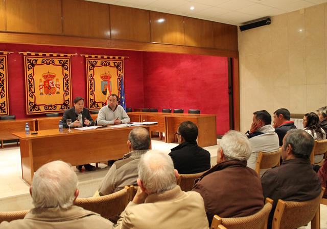 Reunión con agricultores sobre Plan Gestión Integral