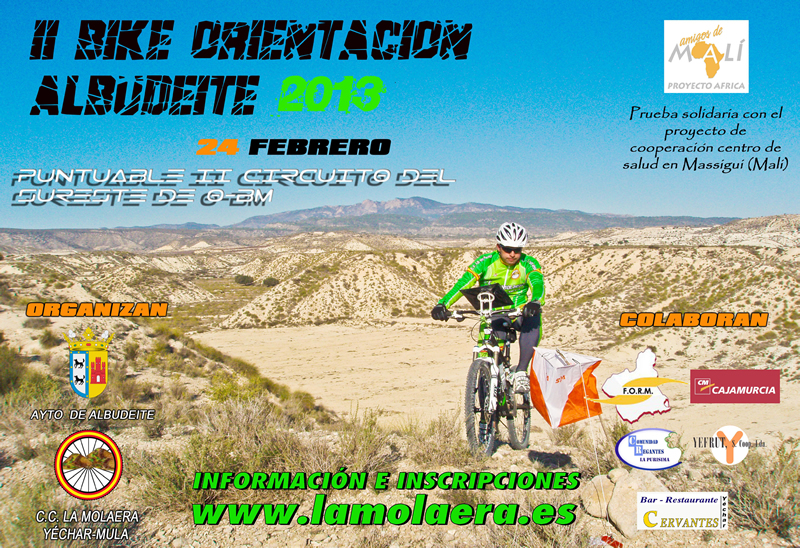 II Bike-Orientación de Albudeite
