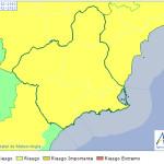 La Aemet mantiene la alerta amarilla este martes por vientos de hasta 80 km/h