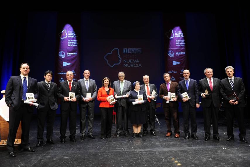 Postres Reina galardonada en los Premios Foro Nueva Murcia
