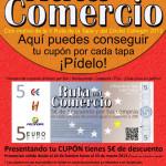 Los comercios de Cehegín regalan cupones descuento de 5 euros para comprar durante la Ruta de la Tapa