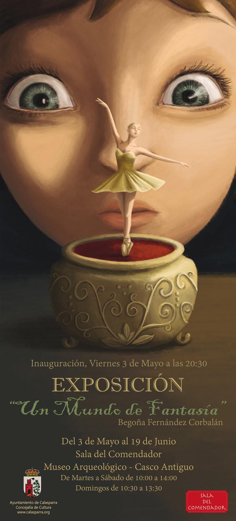 Exposición Un mundo de fantasía, Calasparra