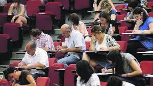 Foto de archivo Oposiciones