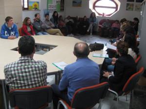 Visita de Afemnor al Centro de Día Pro Salud Mental del Noroeste
