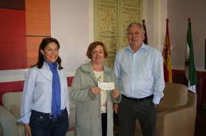 Entrega subvención Asociación Española Lucha Contra el Cancer Cehegín