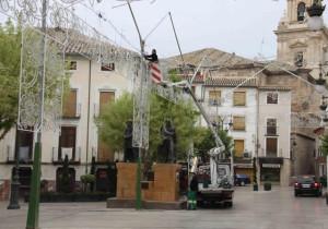 Instalación Alumbrado Especial Fiestas Caravaca