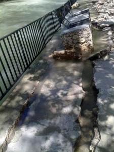 Inundación del Santuario de Ntra. Sra. de la Esperanza