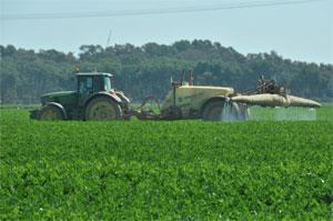 Maquinaria para aplicación de productos fitosanitarios