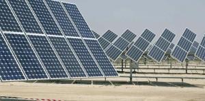 Foto de archivo ::Parque solar fotovoltaico::