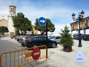 Nueva señalizacion Plaza del Castillo Cehegín PLC
