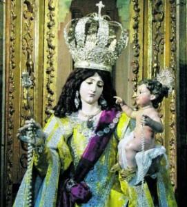 Imagen Virgen del Rosario con el Niño