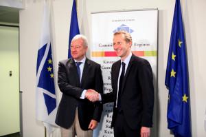 Valcárcel y Ministro Francés