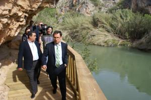 """Inauguración nuevo acceso al yacimiento arqueológico """"Los Abrigos del Pozo"""""""