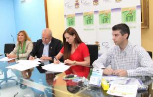 Firma Convenio Hogares Verdes Caravaca