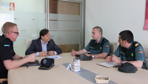 Reunión sobre seguridad rural y urbana en Bullas