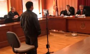 El acusado declara en la Audiencia Provincial de Murcia