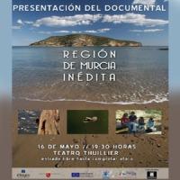 Cartel documental 'Región de Murcia Inédita'