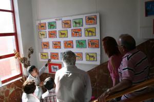 El alumnado del CEIP Ciudad de Begastri estudia y reelabora la producción de Nicolás de Maya
