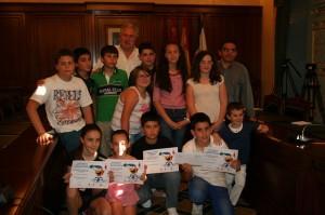 Soria y del Toro entregan los premios del Programa Municipal contra el Absentismo Escolar