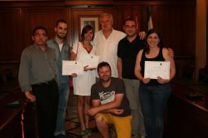 Entrega de Premios del X Certamen de Teatro Aficionado de Cehegín