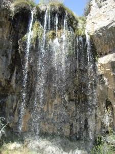 Cascada de Hondares Moratalla