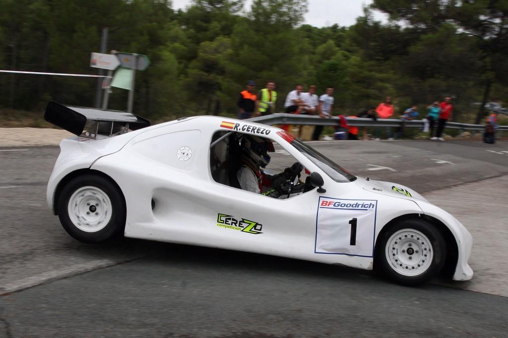 Intratable se mostraba Rubén Cerezo con el Speed Car GT 1000