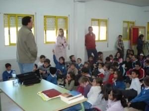 Foto archivo :::Alumnos del colegio Basilio Sáez:::