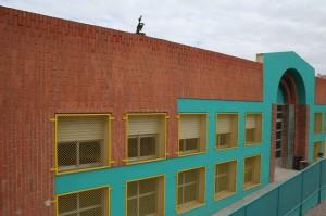 Fachada del Colegio Conde Campillos de Cehegín