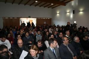 Asistentes a la Jornada Día del Emprendedor en Cehegín