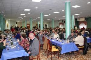 Comida de Navidad de la Asociación de Pensionistas y Jubilados de Cehegín