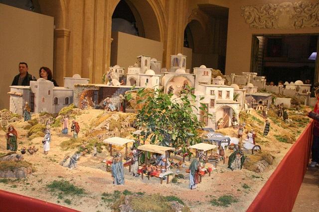 El Beln Municipal de Caravaca y el alumbrado especial de Navidad se