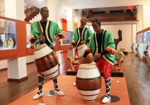 Foto Archivo ::Inauguracion Exposicion Instrumentos Musicales en la Esclavitud En America::