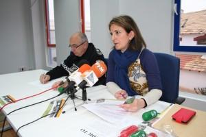Gabino García, sargento-jefe de la Policía Local y Maria Dolores Carrasco