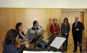 Visita Directora General de Formacion Profesional y Enseñanzas Regimen Especial en el Conservatorio Caravaca