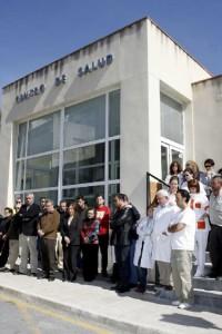 Foto de archivo ::Concentración en el Centro de Salud de Moratalla::