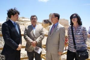 Inauguración obras de rehabilitación del castillo de Calasparra