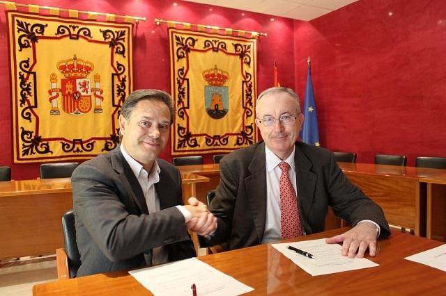 Convenio con Caja Murcia y la Tercera Edad de Bullas