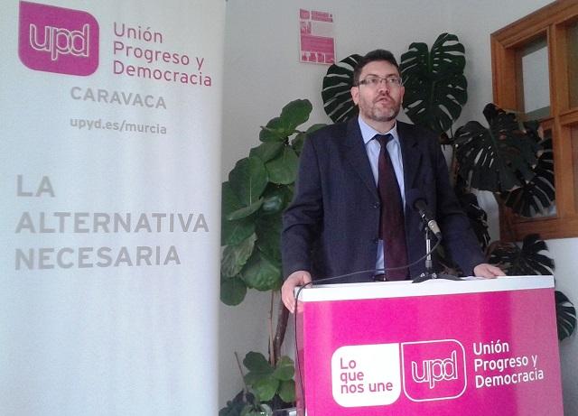 Miguel Sánchez López, concejal UPD Caravaca