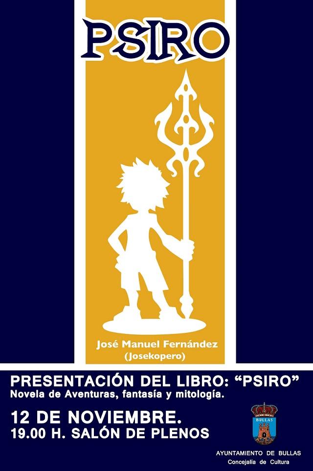 Psrio, novela de José Manuel Fernández