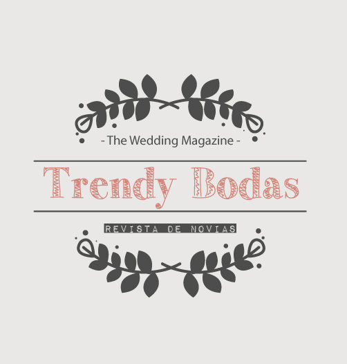 "Logo de ""Trendy Bodas - The Wedding Magazine"""