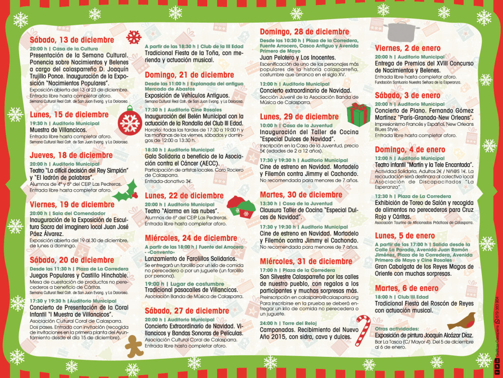 Programa Navidad 2 2014