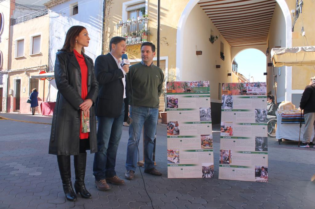 Presentación calendario Zacatín 2015