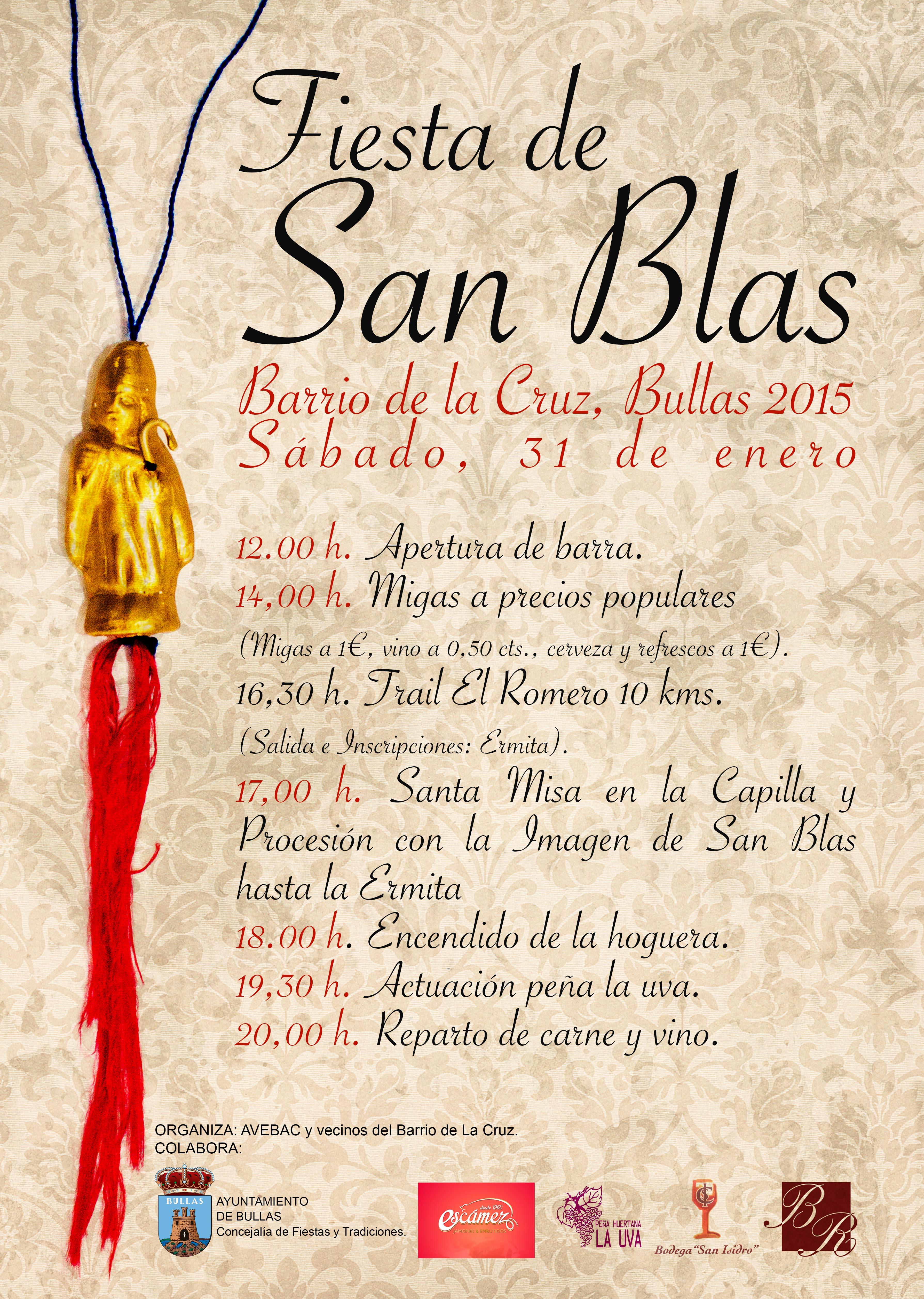 El Barrio de La Cruz de Bullas celebra la Fiesta de San Blas   La ...