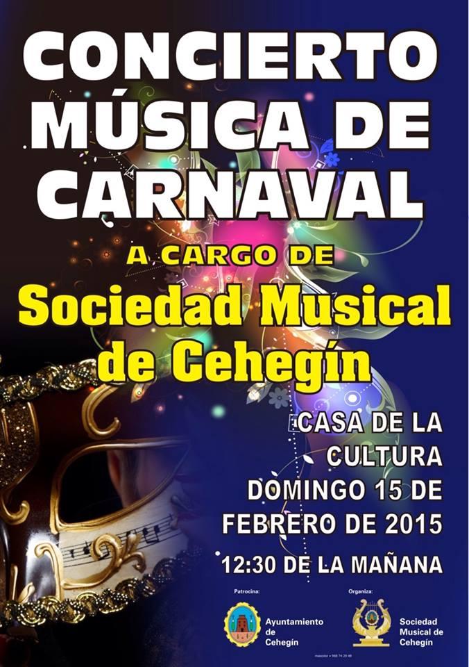 CONCIERTO SOCIEDAD MUSICAL DE CEHEGIN