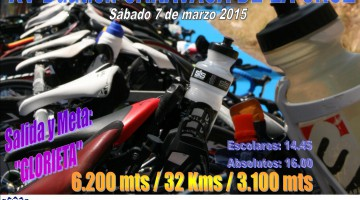 Cartel XV DUATLON 2015
